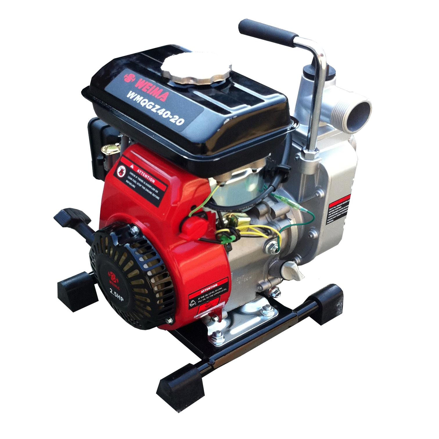 Waterpomp met brandstofmotor