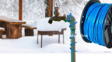 Verwarmings lint en isolatie