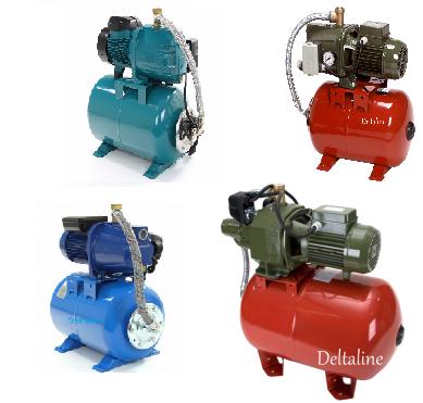Hydrofoor pompen voor beregening en grondwater systemen