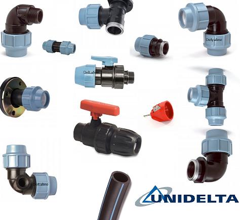Unidelta koppelingen voor Grondwater / Leidingwater