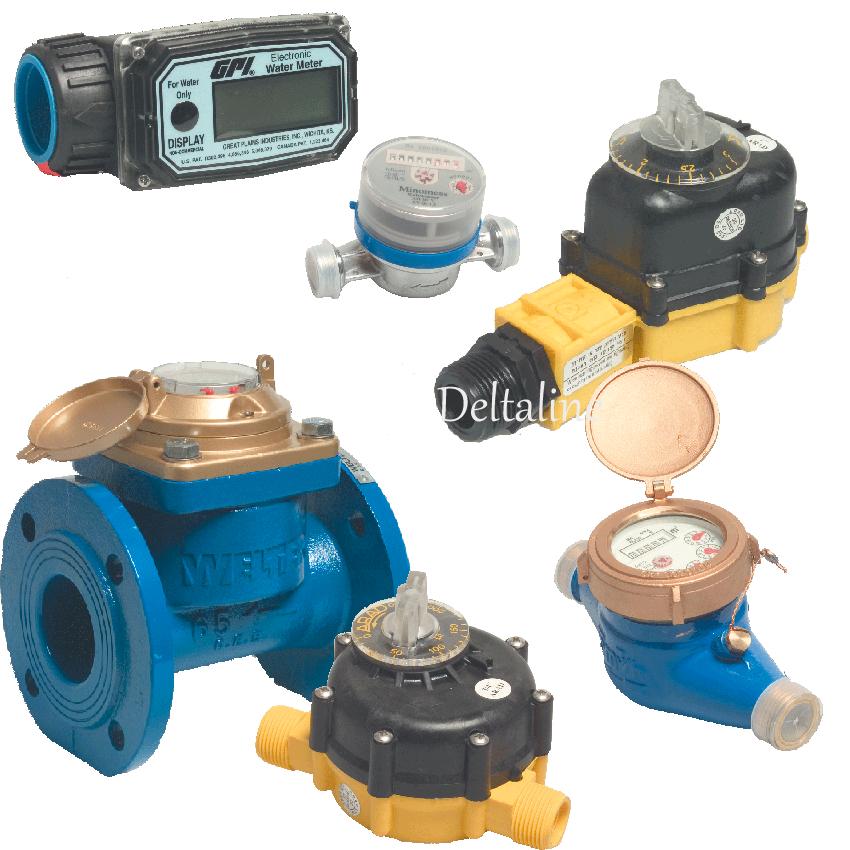 Watermeters, vloeistofmeters