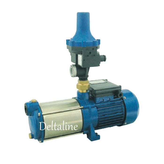 MPI Multistage geluisarme waterpomp met pumpcontrol