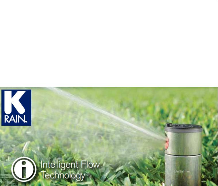 K-Rain pop-up turbinesproeiers