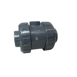 PVC veerbelaste terugslagklep type Mega 5000