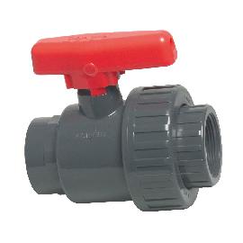 PVC kogelkraan met enkele wartel type Mega Safe 550
