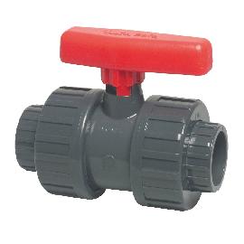 PVC kogelkraan met dubbele wartel type Mega Safe 600