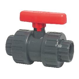 PVC kogelkraan met dubbele wartel type Mega Safe 625