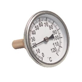 Bimetaal wijzerthermometer