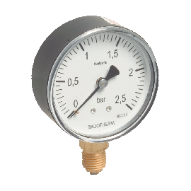 Manometer voor acethyleen 63 mm