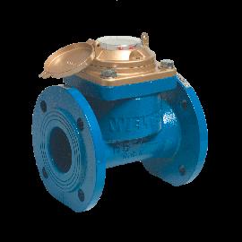 Watermeter voor bronnering en irrigatie drooglopend