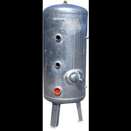 Drukketel, type verticaal staal, gegalvaniseerd, 6 bar, DIN481