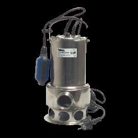 Mega RVS dompelpomp voor vervuild water type Q 750 B54 R - 12,5 m³/uur