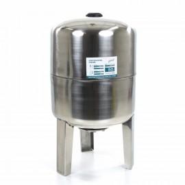 LEO expansievat, verticaal, rvs 304, 60 liter