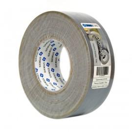 Stokvis pe gecoate textiel duct tape premium, type 341700 GY, b = 50 mm, l = 50 m, grijs, per rol