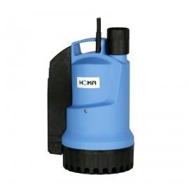 Homa dompelpomp voor schoon- en vuilwater, mantelgekoeld, C 250 WE, 230 V