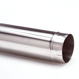Aluminiumpijp dunwandig 250 mm lang