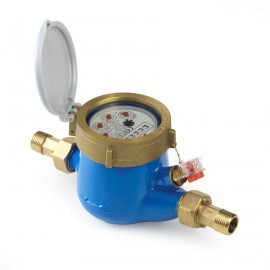 Watermeter, type BETA-MJ-SDC, incl. koppelingen