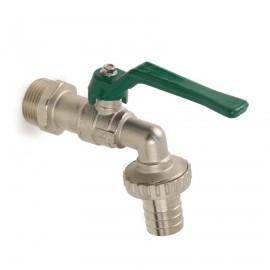 Messing verchroomde tap-kogelafsluiter, type 5600