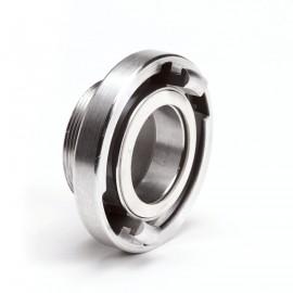Aluminium Storz aansluitstuk met buitendraad