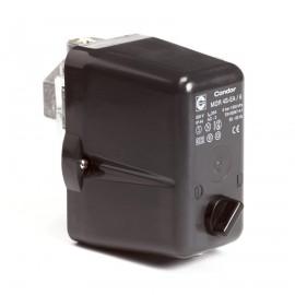 Condor drukschakelaar, MDR 4-met aan/uitschakelaar.