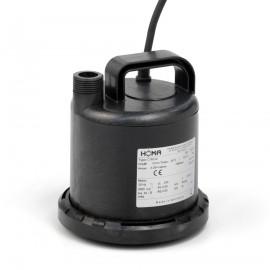 Homa dompelpomp voor schoonwater, mantelgekoeld, vlakzuig, C 80 W, kunststof, 230 V
