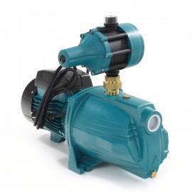 LEO zelfaanzuigende hydrofoor, gy, type AJm110, 230 V, 1,10 kW, incl. pompcontrol, 6 m³/uur