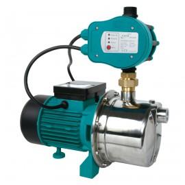 LEO normaalzuigende hydrofoor, rvs, type 4XCm120, 230 V, 1,1 kW, incl. pompcontrol, 4,7 m³/uur