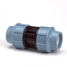 Unidelta koppeling, Kiwa, 16 bar, 2x klem, 16 mm