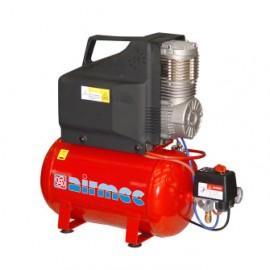 Airmec draagbare olievrije zuigercompressor,