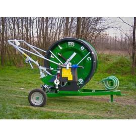 Mini Regen Haspel Model : 63-160    Slangmaat Ø 63 mm lengte rol : 160 meter, met bronpomp samen gebouwd op uw locatie