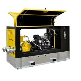 Varisco vacuum ondersteunde ZD super geluidgedempte diesel pompset type Albatross