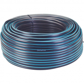 PE 100 Drukbuis KIWA, SDR 11 16 bar, KIWA, PE100, SDR 11, zwart/blauw