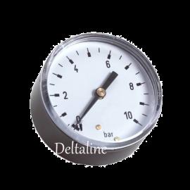 Buisveermanometer met achteraansluiting (droge uitvoering)