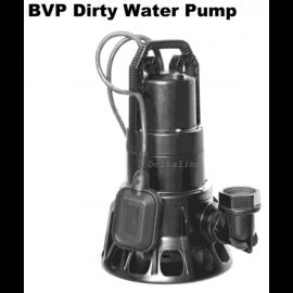 BVP 316  hoogwaardige glasvezelversterkte kunststof dompelpomp  maximaal 19,2 m3/uur).  geschikt voor zeewater en mild chemisch verontreinigd water