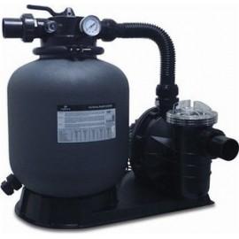 Hydro-S filter pomp set, type FSPl 350 - 500X grijs, 230VAC, 2 bar, PE 12 m3