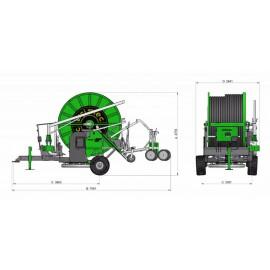 Onderdelen & opties voor de  Irrimec MF3 125TG400