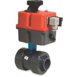 PVC kogelkraan Mega Safe met actuator 230 Volt