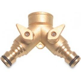 Hydro-Fit 3-weg Koppeling met kogelkranen Orginal