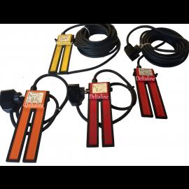 REKA 2000 Electrode niveauschakelaar met 1 meter kabel / leegpompen  rood