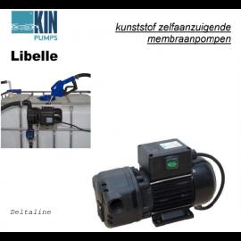 Adblue pompset 230V voor  IBC vat Pro versie met flowmeter