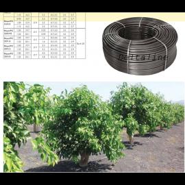 NaanDanJain professionele Druppelbevloeiingsslang, type Amnon  wijngaarden,  appelen, peren, hazelnoten, kersen, veldtomaatjes,  suikerriet, bosbessen,  maïs, tafeldruiven