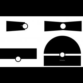 K-Rain nozzle voor pop-up sproeier, serie KV, type P15