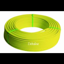 VSH Multiskin gas meerlagenbuis (AKB) 3-laags  PE-Xc/AL/PEX geel zonder mantel