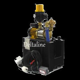 Waterhergebruiksysteem met zelfaanzuigende centrifugaalpomp
