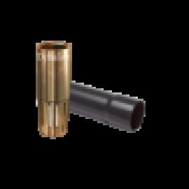 Binnenbuis 40 mm voor bron 63 mm met klep verloopsok knie en lijm koppeling
