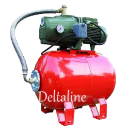 Saer TR 8 hydrofoor 7200 ltr/h met 60 liter ketel