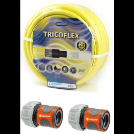 """TRICOFLEX 3/4""""  20 x 26,5 mm met gardena koppeling"""